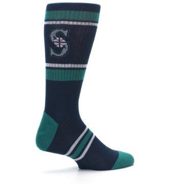 Image of Seattle Mariners Men's Athletic Crew Socks (side-1-23)