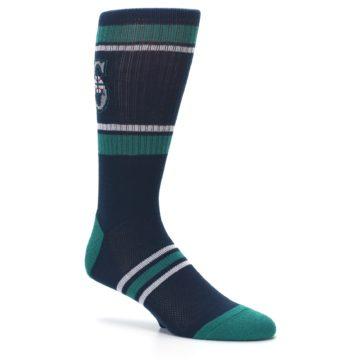 Image of Seattle Mariners Men's Athletic Crew Socks (side-1-26)