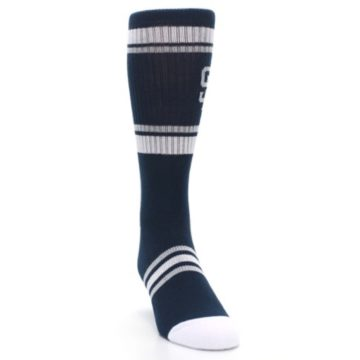 Image of San Diego Padres Men's Athletic Crew Socks (side-1-front-03)
