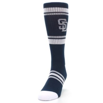 Image of San Diego Padres Men's Athletic Crew Socks (side-2-front-06)