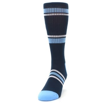 Image of Tampa Bay Rays Men's Athletic Crew Socks (side-2-front-06)