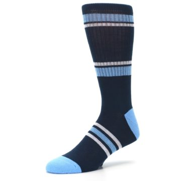Image of Tampa Bay Rays Men's Athletic Crew Socks (side-2-09)