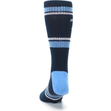 Image of Tampa Bay Rays Men's Athletic Crew Socks (back-17)