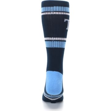 Image of Tampa Bay Rays Men's Athletic Crew Socks (back-18)