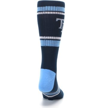 Image of Tampa Bay Rays Men's Athletic Crew Socks (back-19)