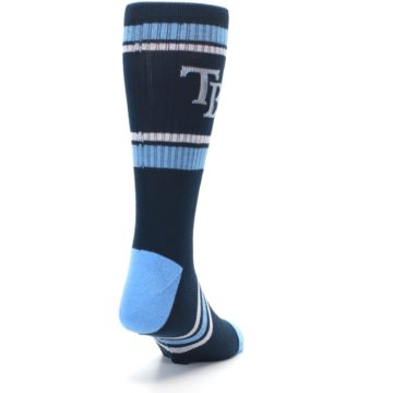 Image of Tampa Bay Rays Men's Athletic Crew Socks (side-1-back-20)