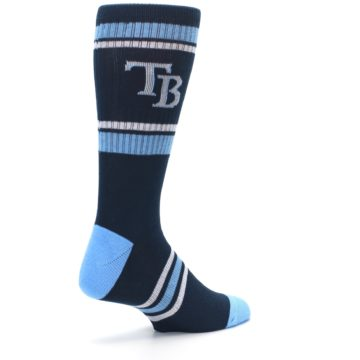 Image of Tampa Bay Rays Men's Athletic Crew Socks (side-1-back-22)