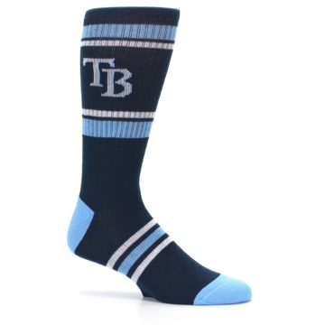 Image of Tampa Bay Rays Men's Athletic Crew Socks (side-1-25)