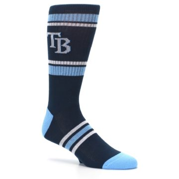 Image of Tampa Bay Rays Men's Athletic Crew Socks (side-1-26)