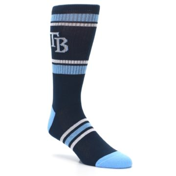 Image of Tampa Bay Rays Men's Athletic Crew Socks (side-1-27)