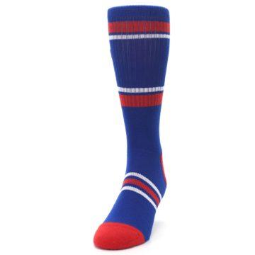 Image of Texas Rangers Men's Athletic Crew Socks (side-2-front-06)