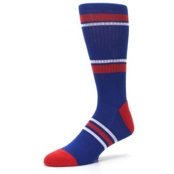 Image of Texas Rangers Men's Athletic Crew Socks (side-2-09)