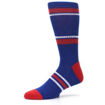 Image of Texas Rangers Men's Athletic Crew Socks (side-2-10)