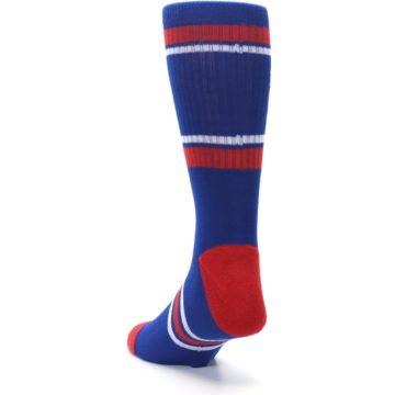 Image of Texas Rangers Men's Athletic Crew Socks (side-2-back-16)