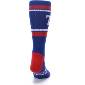 Image of Texas Rangers Men's Athletic Crew Socks (back-19)