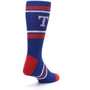 Image of Texas Rangers Men's Athletic Crew Socks (side-1-back-21)