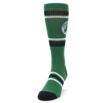 Image of Boston Celtics Men's Athletic Crew Socks (side-2-front-06)