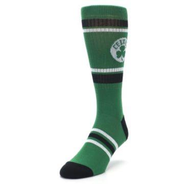 Image of Boston Celtics Men's Athletic Crew Socks (side-2-front-07)