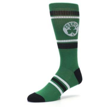 Image of Boston Celtics Men's Athletic Crew Socks (side-2-09)