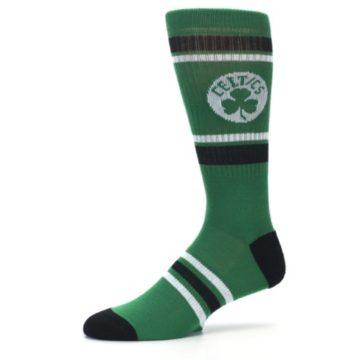 Image of Boston Celtics Men's Athletic Crew Socks (side-2-10)