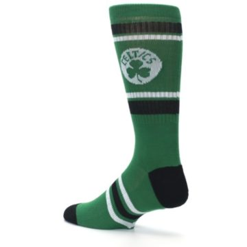 Image of Boston Celtics Men's Athletic Crew Socks (side-2-back-14)
