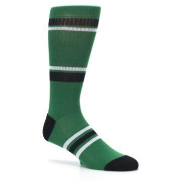 Image of Boston Celtics Men's Athletic Crew Socks (side-1-26)