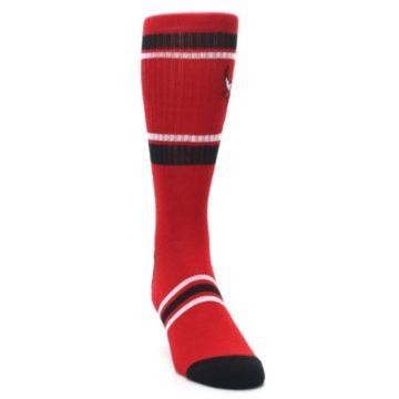 Image of Chicago Bulls Men's Athletic Crew Socks (side-1-front-03)