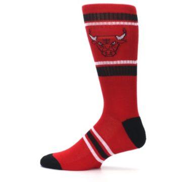 Image of Chicago Bulls Men's Athletic Crew Socks (side-2-12)