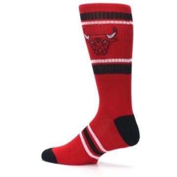 Image of Chicago Bulls Men's Athletic Crew Socks (side-2-13)