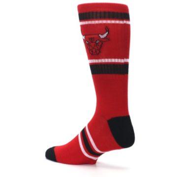 Image of Chicago Bulls Men's Athletic Crew Socks (side-2-back-14)
