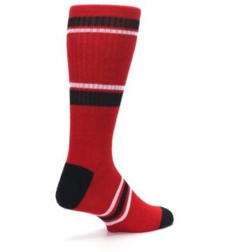 Image of Chicago Bulls Men's Athletic Crew Socks (side-1-back-22)