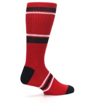 Image of Chicago Bulls Men's Athletic Crew Socks (side-1-23)
