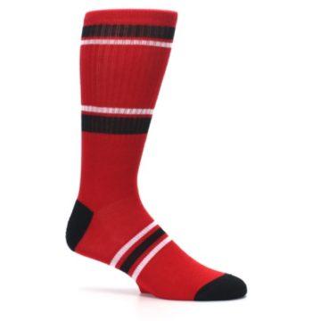 Image of Chicago Bulls Men's Athletic Crew Socks (side-1-25)