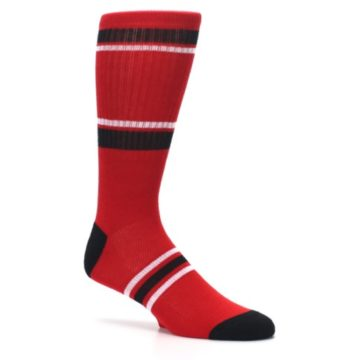 Image of Chicago Bulls Men's Athletic Crew Socks (side-1-26)