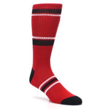 Image of Chicago Bulls Men's Athletic Crew Socks (side-1-27)