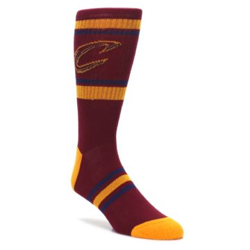 Cleveland-Cavaliers-Mens-Athletic-Crew-Socks-PKWY