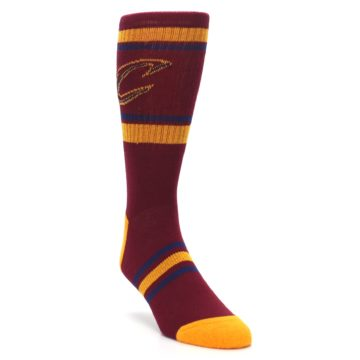 Image of Cleveland Cavaliers Men's Athletic Crew Socks (side-1-front-02)