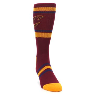 Image of Cleveland Cavaliers Men's Athletic Crew Socks (side-1-front-03)