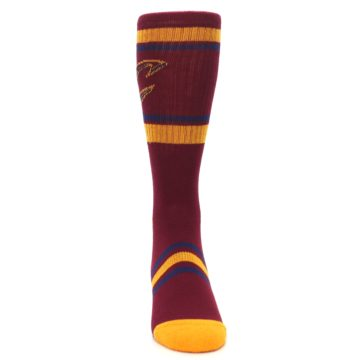 Image of Cleveland Cavaliers Men's Athletic Crew Socks (front-04)