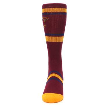 Image of Cleveland Cavaliers Men's Athletic Crew Socks (front-05)
