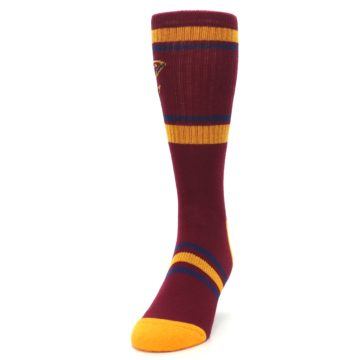 Image of Cleveland Cavaliers Men's Athletic Crew Socks (side-2-front-06)