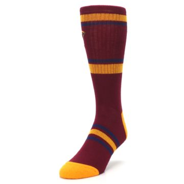 Image of Cleveland Cavaliers Men's Athletic Crew Socks (side-2-front-07)