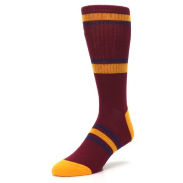 Image of Cleveland Cavaliers Men's Athletic Crew Socks (side-2-front-08)