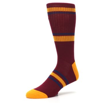 Image of Cleveland Cavaliers Men's Athletic Crew Socks (side-2-09)