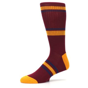 Image of Cleveland Cavaliers Men's Athletic Crew Socks (side-2-10)