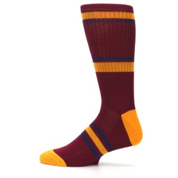 Image of Cleveland Cavaliers Men's Athletic Crew Socks (side-2-12)