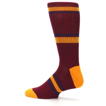 Image of Cleveland Cavaliers Men's Athletic Crew Socks (side-2-13)