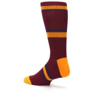 Image of Cleveland Cavaliers Men's Athletic Crew Socks (side-2-back-14)