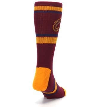 Image of Cleveland Cavaliers Men's Athletic Crew Socks (side-1-back-20)