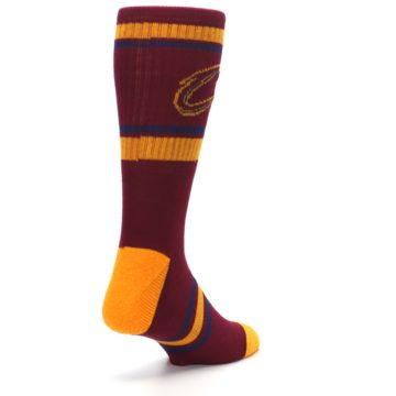 Image of Cleveland Cavaliers Men's Athletic Crew Socks (side-1-back-21)